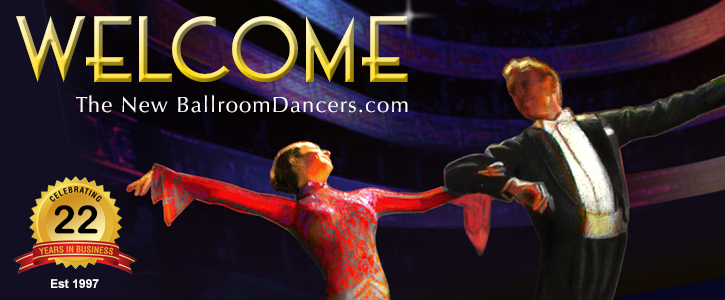 Welcome to the New BallroomDancers.com! Celebrating 20 years.